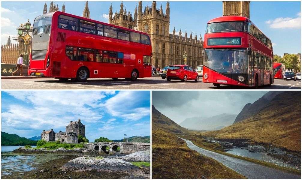 London und Schottland