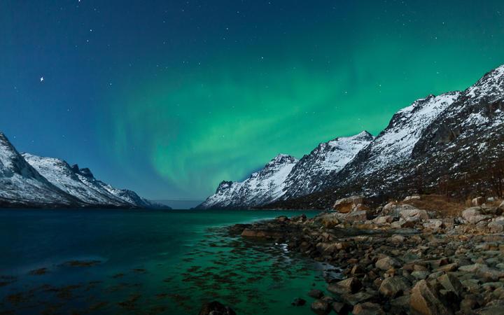 Das Polarlicht Aurora Borealis © Jamen Percy / Shutterstock.com
