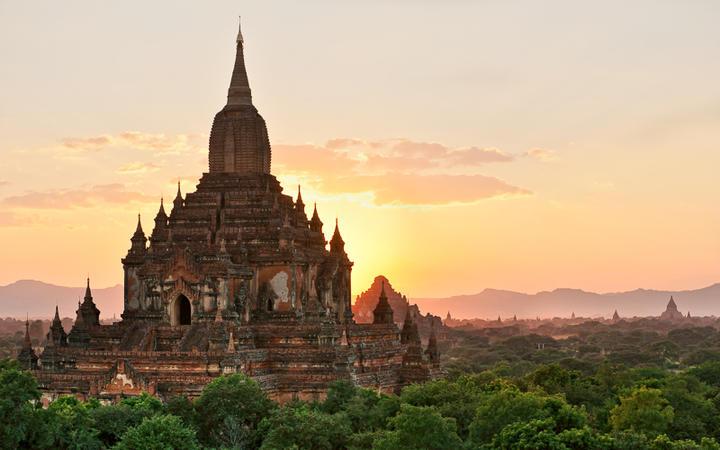 Der Sulamani-Tempel in Bagan © Luciano Mortula / Shutterstock.com