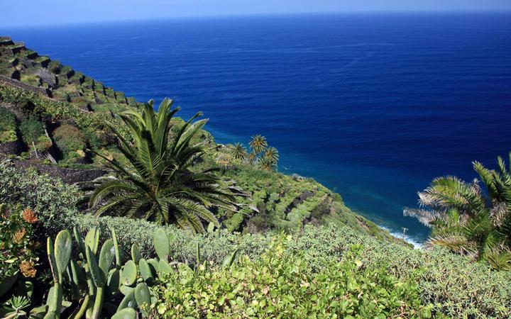 Traumhaft grüne Küstenlandschaft von La Gomera © Anilah / Shutterstock.com
