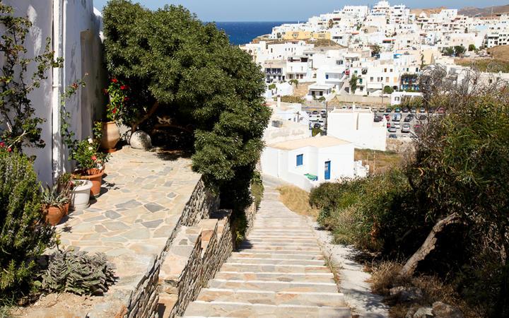 Stadt auf der Insel Naxos © Laila R / Shutterstock.com