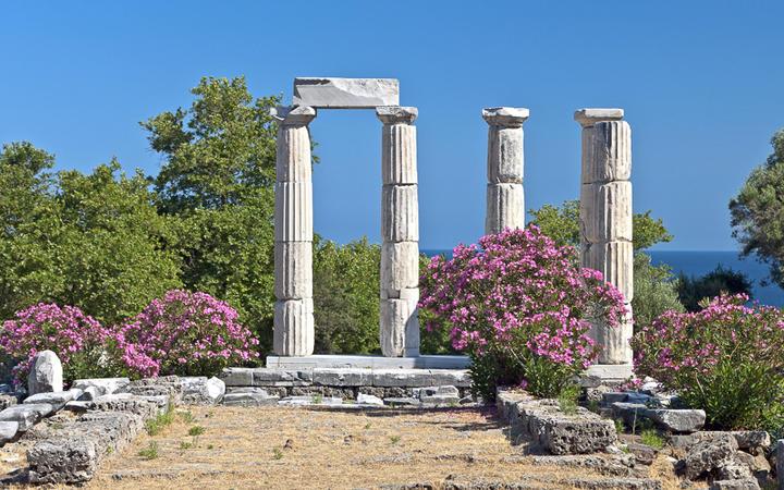 Der Tempel der großen Götter auf Samothraki © Panos Karas / Shutterstock.com