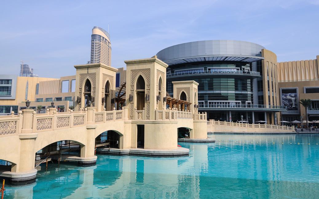 Die Dubai Mall ist mit 350.000 Quadratmetern eines der größten Einkaufszentren der Welt © Philip Lange / Shutterstock.com